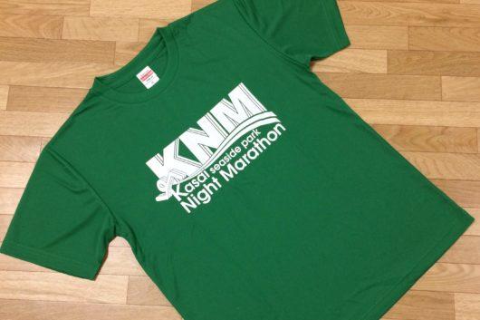 スプリングステージの参加賞は緑のTシャツでした。